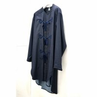 SLEEPING SHIRT-COAT/INDIGO