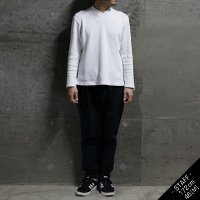 RIB 1TUCK PANTS/BLACK