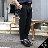 BOX TUCK TROUSERS/TYPE-�