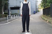 MOTERCYCLE SUIT / NAVY STRIPE
