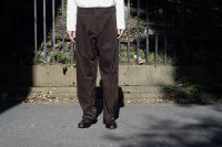 ATELIER TROUSERS TYPE-� / BROWN CORDUROY