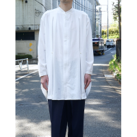 <img class='new_mark_img1' src='//img.shop-pro.jp/img/new/icons5.gif' style='border:none;display:inline;margin:0px;padding:0px;width:auto;' />LONG SHIRTS COAT / WHITE / TOKYO LIMITED