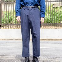 copano86 × Milok|別注 TYPEWRITER ASYMMETRY TUCK SLACKS