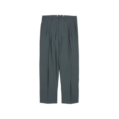 <img class='new_mark_img1' src='https://img.shop-pro.jp/img/new/icons5.gif' style='border:none;display:inline;margin:0px;padding:0px;width:auto;' />CANONICO WOOL MOHAIR 2TUCK TROUSERS