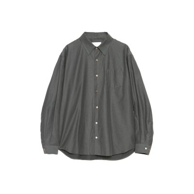 <img class='new_mark_img1' src='https://img.shop-pro.jp/img/new/icons5.gif' style='border:none;display:inline;margin:0px;padding:0px;width:auto;' />SMOOTH TWILL COTTON THE SHIRT / GREEN