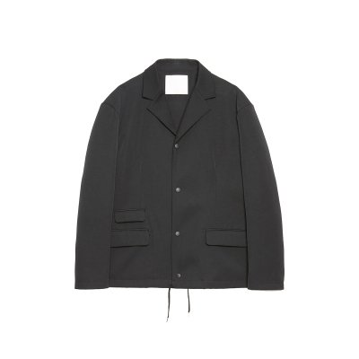 WOOL GABADINE COACH JACKET