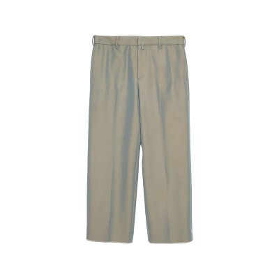 <img class='new_mark_img1' src='https://img.shop-pro.jp/img/new/icons5.gif' style='border:none;display:inline;margin:0px;padding:0px;width:auto;' />GRAMPIANS WOOL STRAIGHT TROUSERS