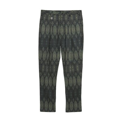 1TUCK TROUSERS / GREEN