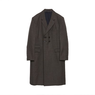 SHETLAND WOOL DOUBLE CHESTER COAT