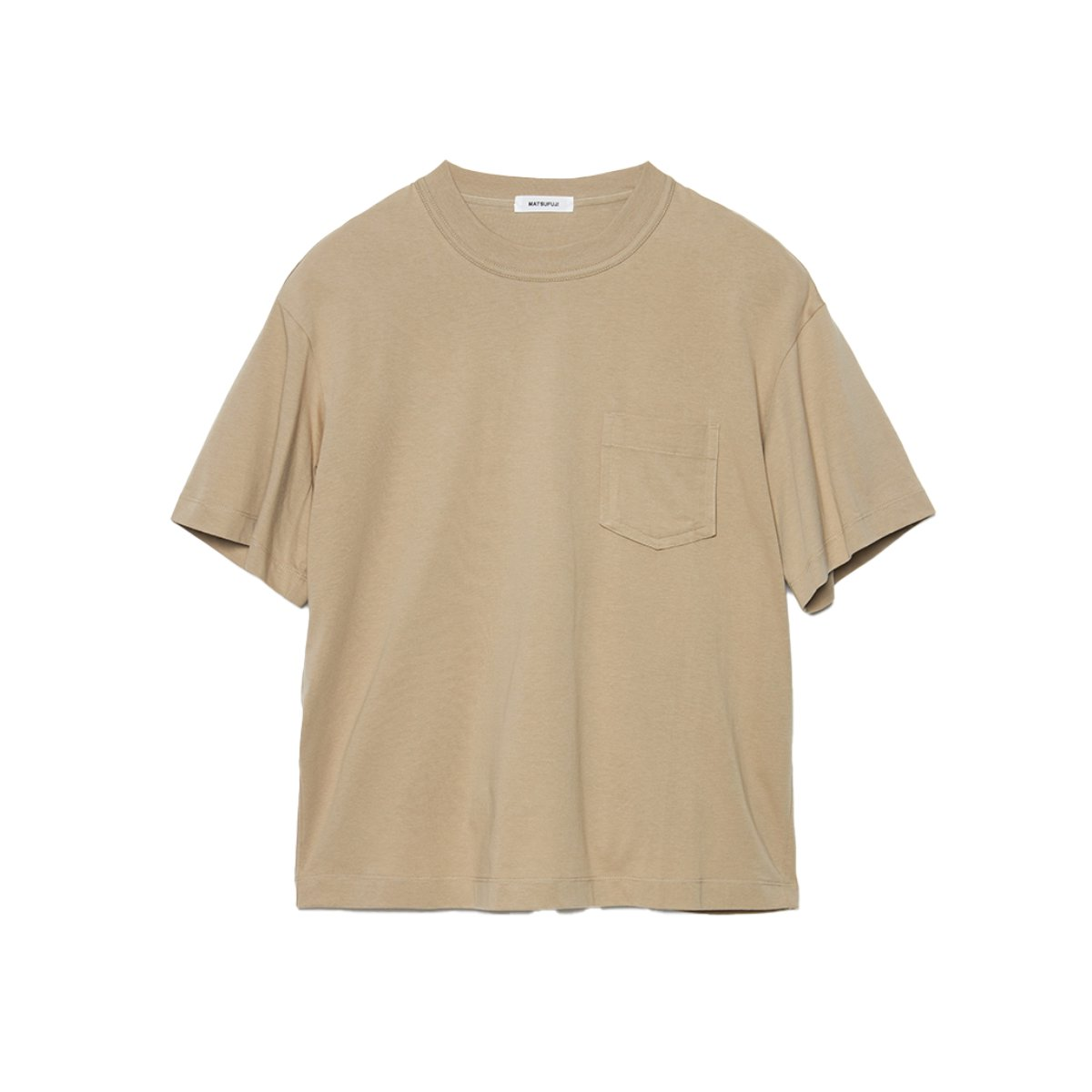 <img class='new_mark_img1' src='https://img.shop-pro.jp/img/new/icons5.gif' style='border:none;display:inline;margin:0px;padding:0px;width:auto;' />Short Sleeve Pocket T-shirt / BEIGE