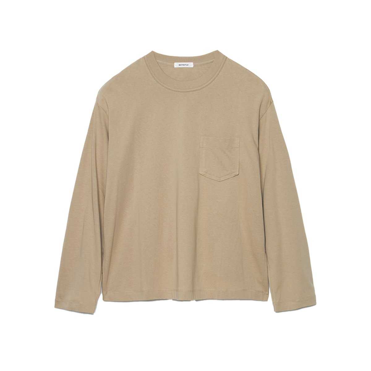 <img class='new_mark_img1' src='https://img.shop-pro.jp/img/new/icons5.gif' style='border:none;display:inline;margin:0px;padding:0px;width:auto;' />Long Sleeve Pocket T-shirt / BEIGE