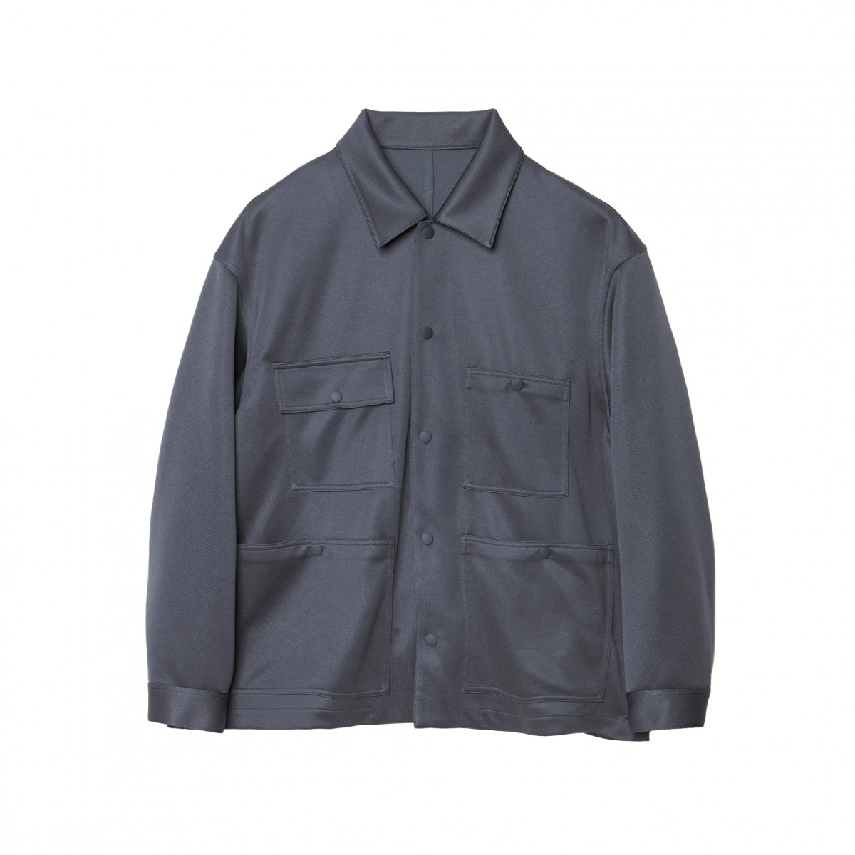 <img class='new_mark_img1' src='https://img.shop-pro.jp/img/new/icons5.gif' style='border:none;display:inline;margin:0px;padding:0px;width:auto;' />JERSEY CPO BLOUSON / GREY