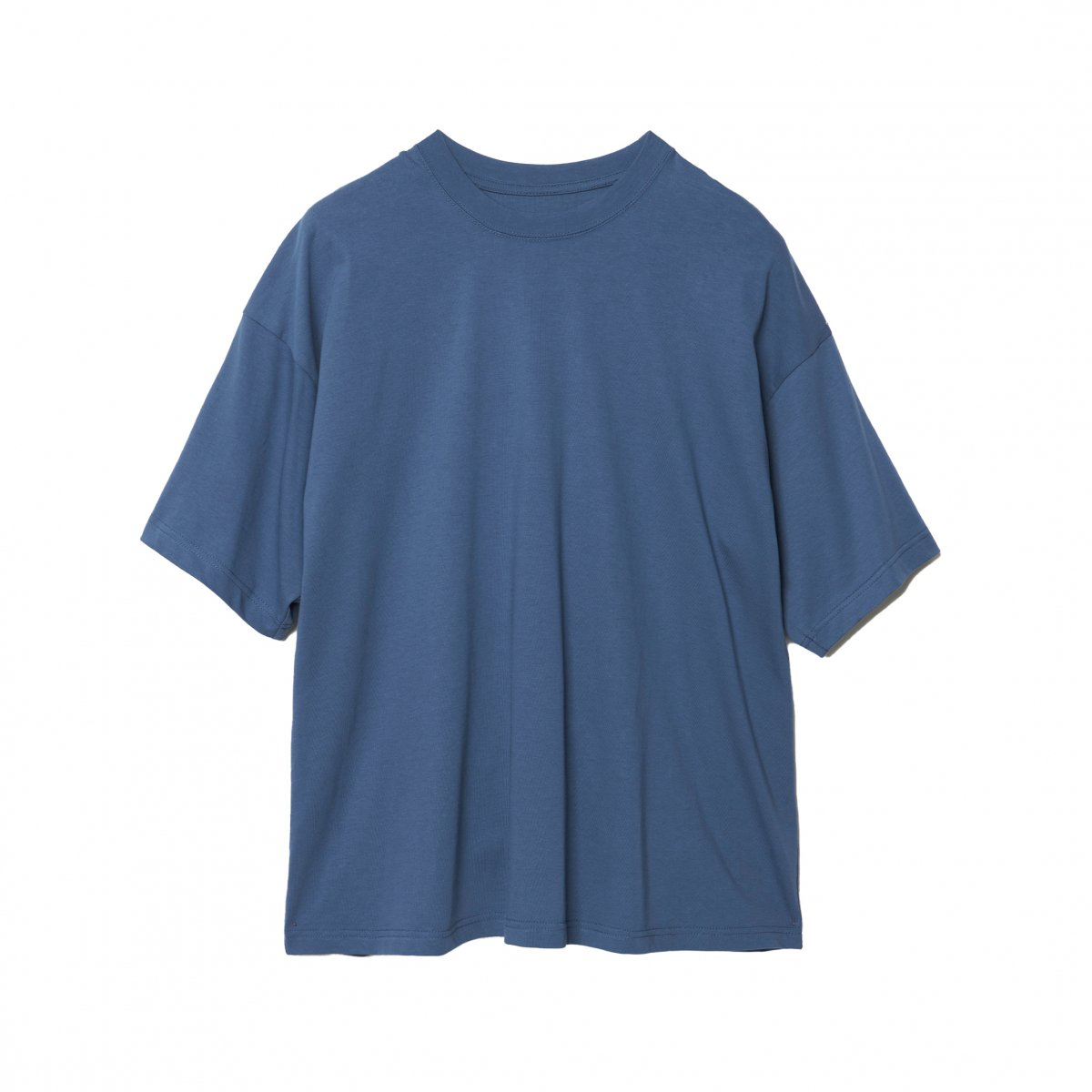 <img class='new_mark_img1' src='https://img.shop-pro.jp/img/new/icons5.gif' style='border:none;display:inline;margin:0px;padding:0px;width:auto;' />EXTRA STAPLE COTTON SHORT SLEEVE TEE / BLUE