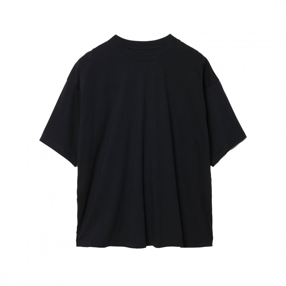 <img class='new_mark_img1' src='https://img.shop-pro.jp/img/new/icons5.gif' style='border:none;display:inline;margin:0px;padding:0px;width:auto;' />EXTRA STAPLE COTTON SHORT SLEEVE TEE / BLACK
