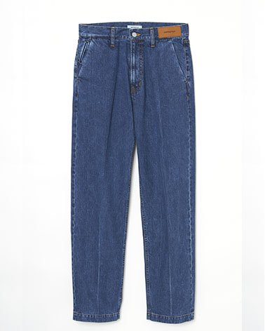 <img class='new_mark_img1' src='https://img.shop-pro.jp/img/new/icons5.gif' style='border:none;display:inline;margin:0px;padding:0px;width:auto;' />Stone Bio Wash Straight 5P Denim Trousers / BLUE