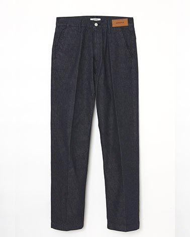 <img class='new_mark_img1' src='https://img.shop-pro.jp/img/new/icons5.gif' style='border:none;display:inline;margin:0px;padding:0px;width:auto;' />No Fade Straight 5P Denim Trousers / INDIGO