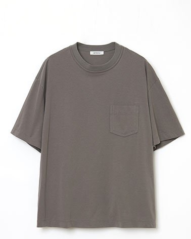 <img class='new_mark_img1' src='https://img.shop-pro.jp/img/new/icons5.gif' style='border:none;display:inline;margin:0px;padding:0px;width:auto;' />Short Sleeve Pocket T-shirt | CHARCOAL