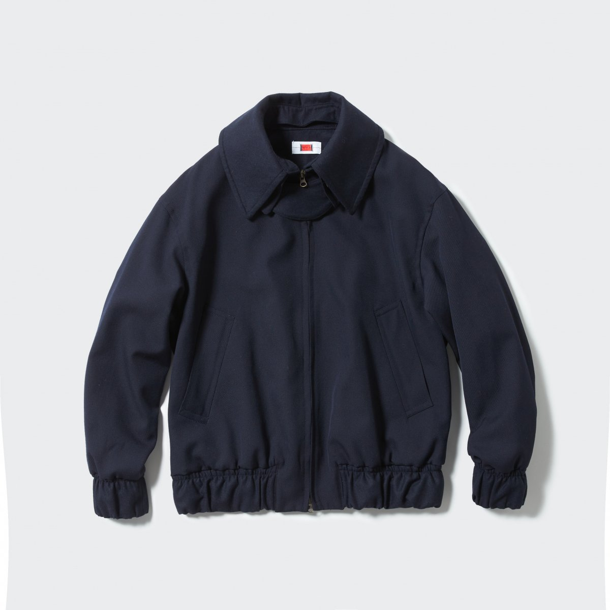 <img class='new_mark_img1' src='https://img.shop-pro.jp/img/new/icons5.gif' style='border:none;display:inline;margin:0px;padding:0px;width:auto;' />【2021AW】RPC FINE WOOL BLOUSON | BLACK