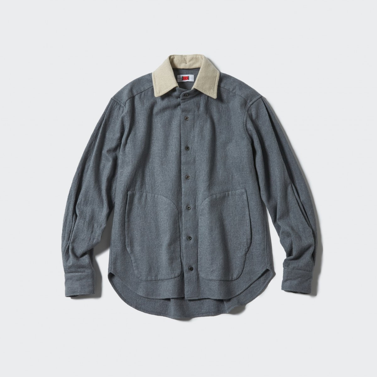 <img class='new_mark_img1' src='https://img.shop-pro.jp/img/new/icons5.gif' style='border:none;display:inline;margin:0px;padding:0px;width:auto;' />【2021AW】RPC HAIRBALL SHIRT | GREY+BEIGE