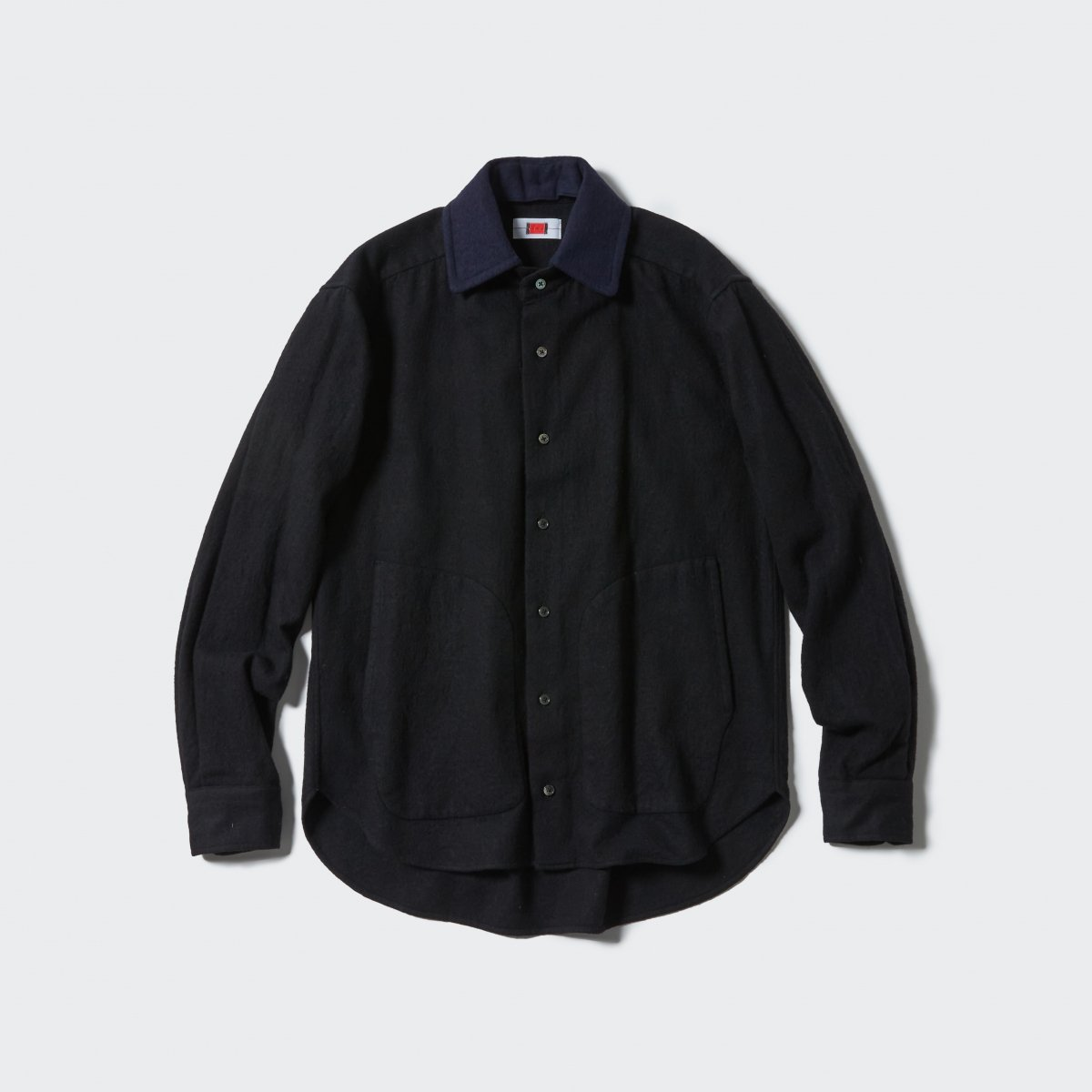 <img class='new_mark_img1' src='https://img.shop-pro.jp/img/new/icons5.gif' style='border:none;display:inline;margin:0px;padding:0px;width:auto;' />【2021AW】RPC HAIRBALL SHIRT | BLACK+NAVY