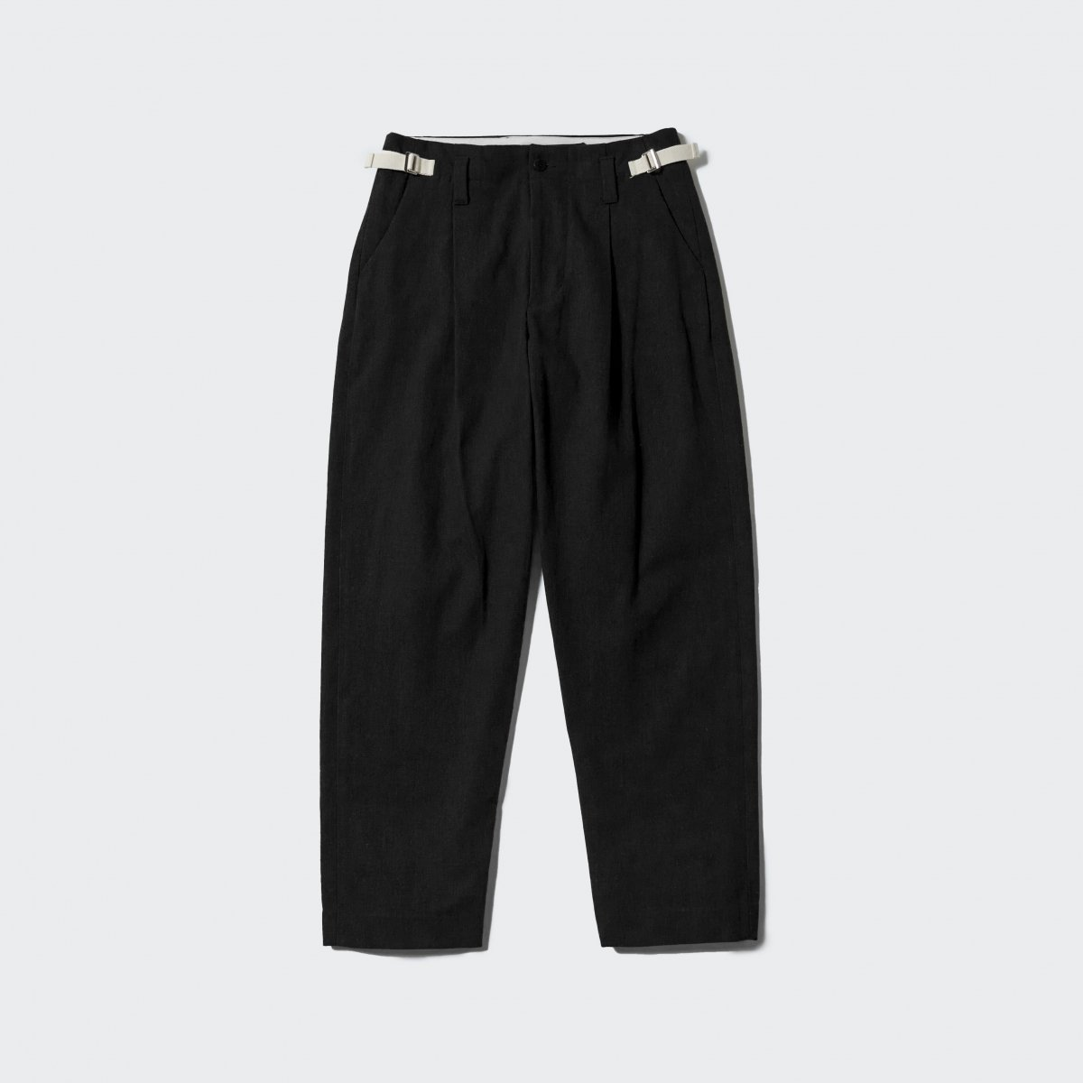 <img class='new_mark_img1' src='https://img.shop-pro.jp/img/new/icons5.gif' style='border:none;display:inline;margin:0px;padding:0px;width:auto;' />【2021AW】ARMY CLOTH TAPARED PT | BLACK