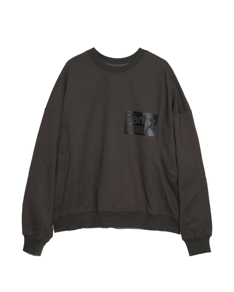 【2021AW】HEAVY COTTON SWEAT | CHARCOAL