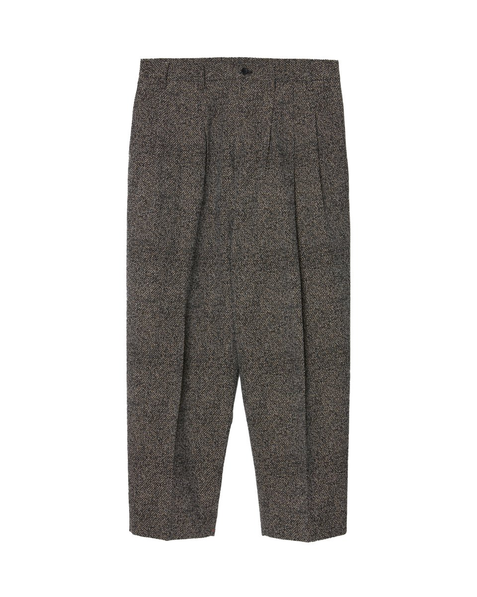 【2021AW】CONSTRUCTED 3TUCK WIDE TROUSERS | MIX