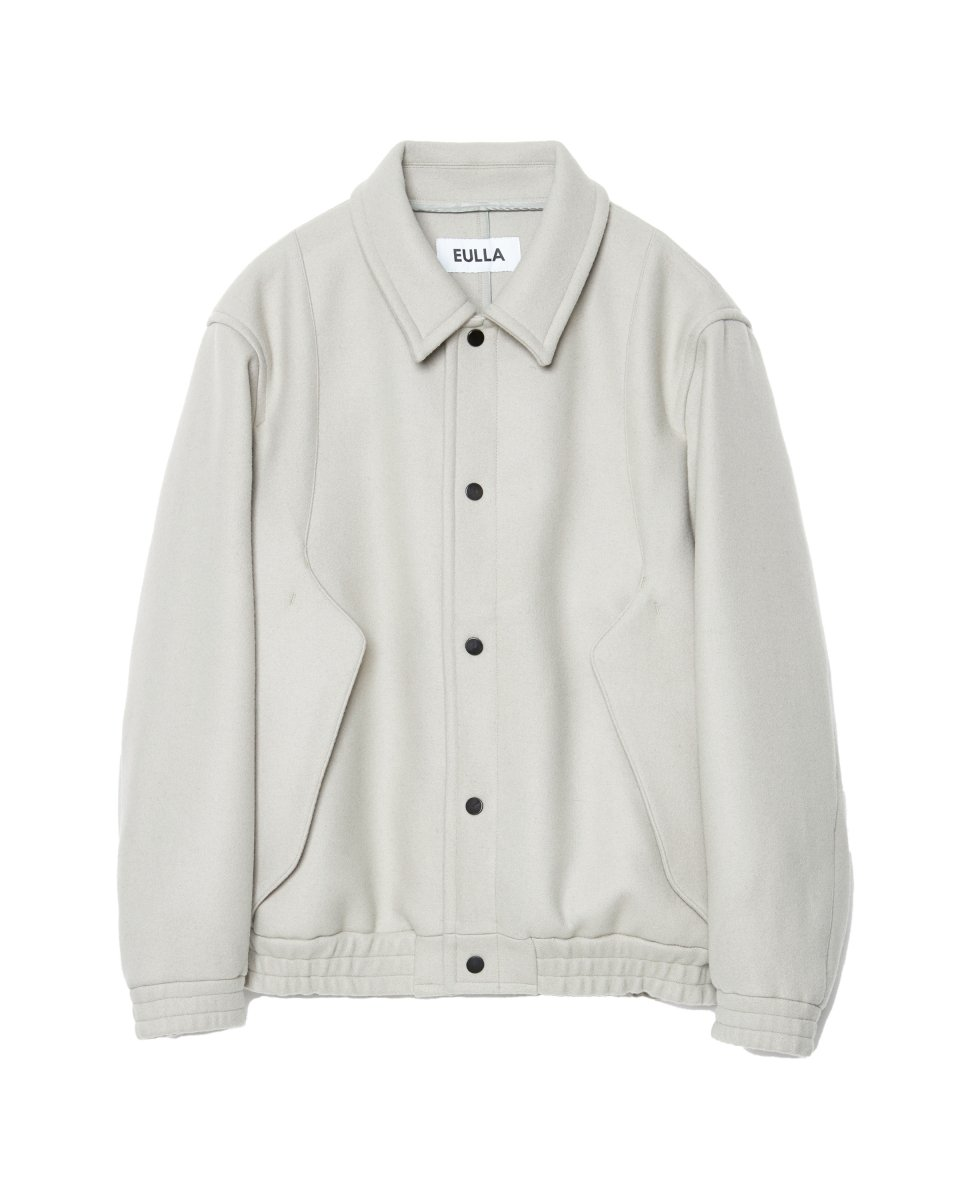 <img class='new_mark_img1' src='https://img.shop-pro.jp/img/new/icons5.gif' style='border:none;display:inline;margin:0px;padding:0px;width:auto;' />【2021AW】TECH WOOL MELTON BOMBER JACKET | GREGE