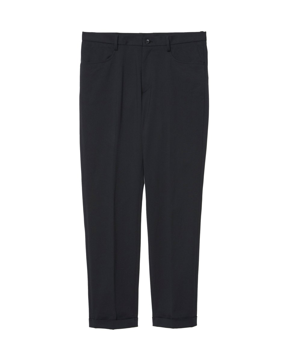 【2021AW】HIGH TENSION SLIM TROUSERS | BLACK