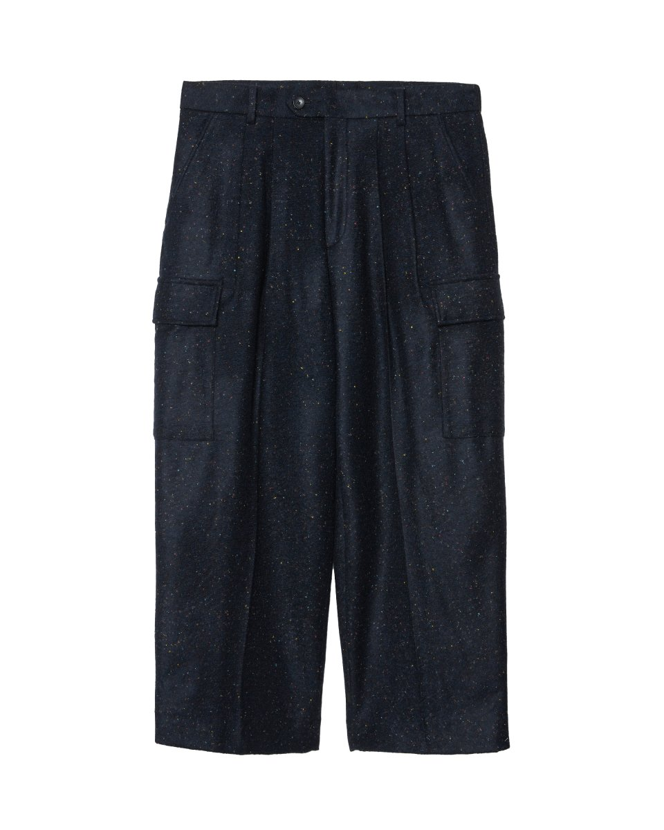 【2021AW】NEP WARM JERSEY WIDE CARGO PANT | MIX