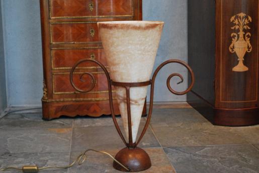 雪花石膏ランプ AY09