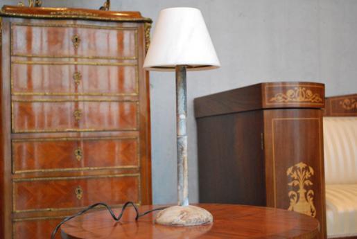 雪花石膏ランプ AL49(白)