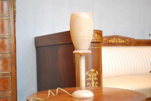 雪花石膏ランプ AL13