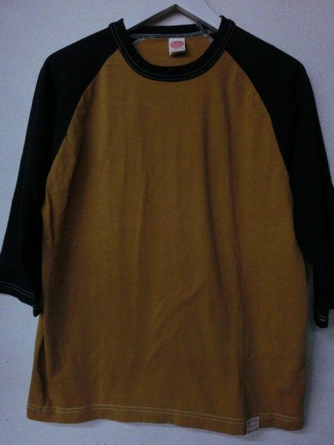トイズマッコイ McHILL SPORTS CROPPED RAGLAN TEE   TMC1631-061 ゴールド/ブラック