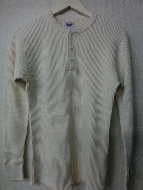 ジェラード ヘンリーネック MEGAサーマルTシャツ AB04208 バニラ
