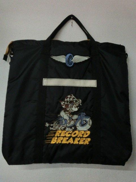 """トイズマッコイ  ヘルメットバッグ MICKEY MOUSE """"RECORD BREAKER""""   TMA1716-030 ブラック"""