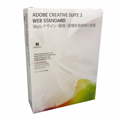 Creative Suite 3 Web Standard ��{�� Mac��