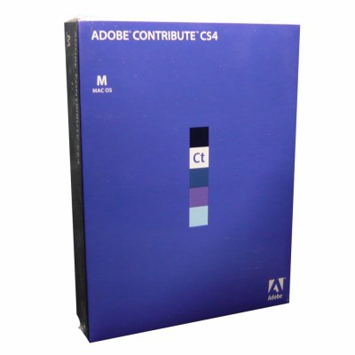 Adobe Adobe Contribute CS4 ��{�� Mac��