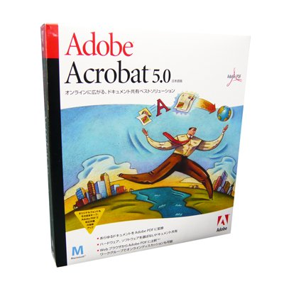 Acrobat 5.0��{�� Mac��