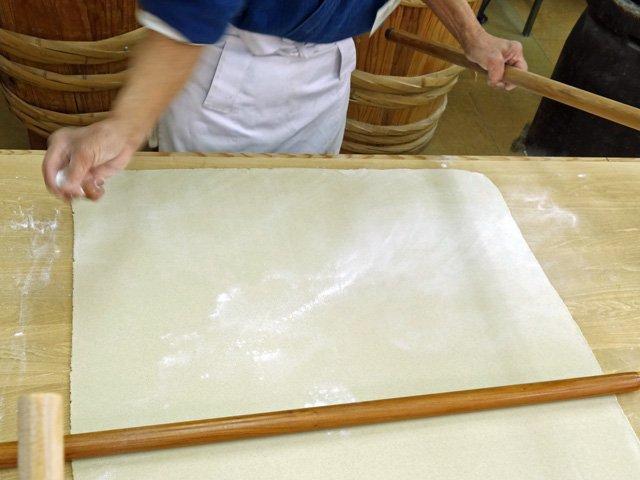 奈川在来種|石臼挽きそば粉10kgの調理例