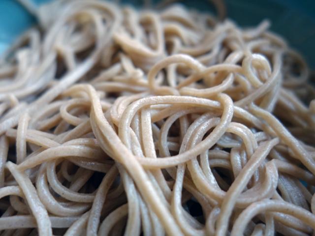 青菊|石臼挽きそば粉の調理例