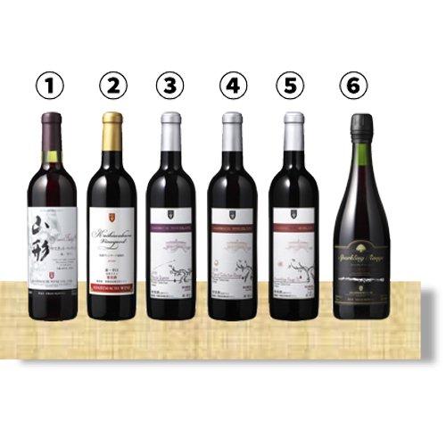 Aコース 辛口赤ワイン6本セット
