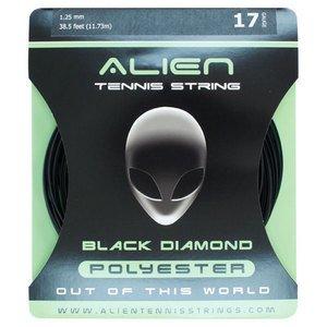 ALIEN Black Diamond 17G Tennis String エイリアン ガット ブラック ダイアモンド 17/1.25mm