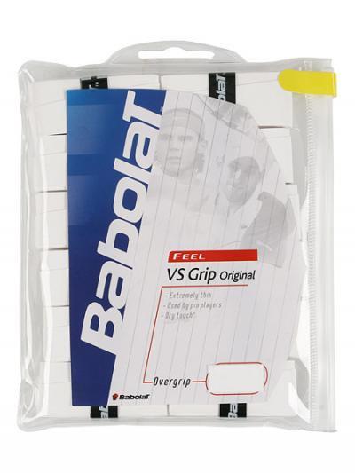 Babolat VS Overgrips  バボラ VSオリジナル オーバーグリップ 12個パック 【ホワイト】