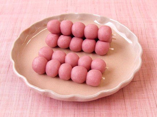 ぶどう饅頭 春いちご