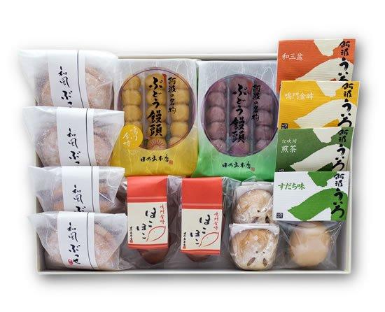 阿波風土菓「季節の彩り」