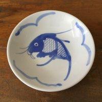 *china deadstock*魚柄小皿