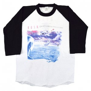 1984 RUSH ラッシュ GRACE UNDER PRESSURE ヴィンテージTシャツ 【M】