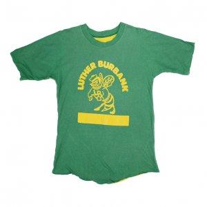 70'S RUSSELL ラッセル LUTHER BURBANK ヴィンテージリバーシブルTシャツ 【M相当】