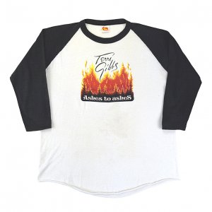 1982 TERRI GIBBS テリーギブス ASHES TO ASHES ヴィンテージTシャツ 【L】